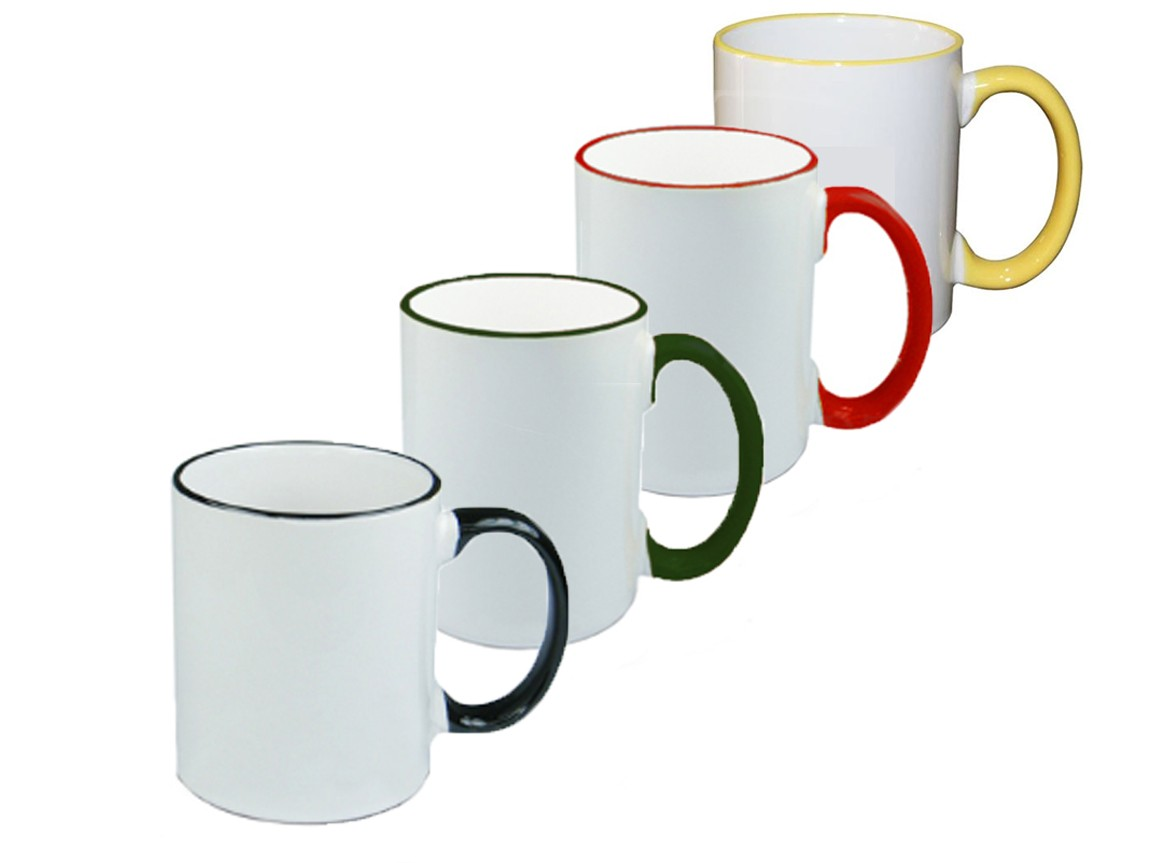 Colour Handle Mug